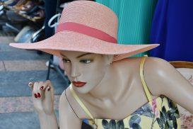 Fashion Woman Decoration Clothing Hat Elegant